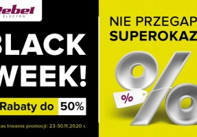 BLACK WEEKEND W REBEL ELECTRO